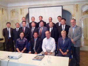 Návštěva delegace Čínské národní asociace konzultačních inženýrů (CNAEC)  Praha 7. září 2018