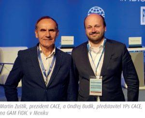 Globální konference konzultačních inženýrů FIDIC v Mexiku, 9. a 10. září 2019